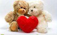 Valentines Teddy Bear  1 Widescreen Wallpaper