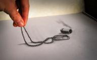 3D Love Drawings 3 Free Wallpaper