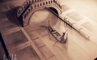 3D Love Drawings 8 Wide Wallpaper