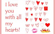 I Love You Cards Romantic 9 High Resolution Wallpaper