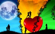 3D Love Life 31 Background