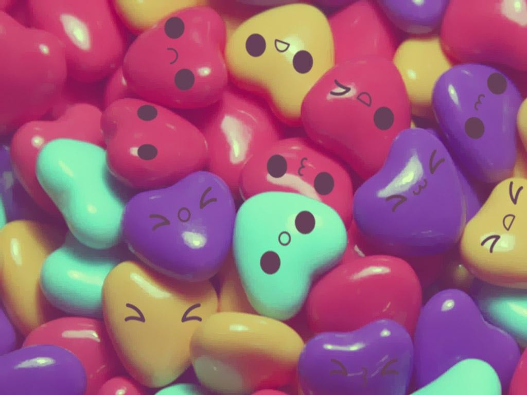love hearts candy 15 hd wallpaper - hdlovewall