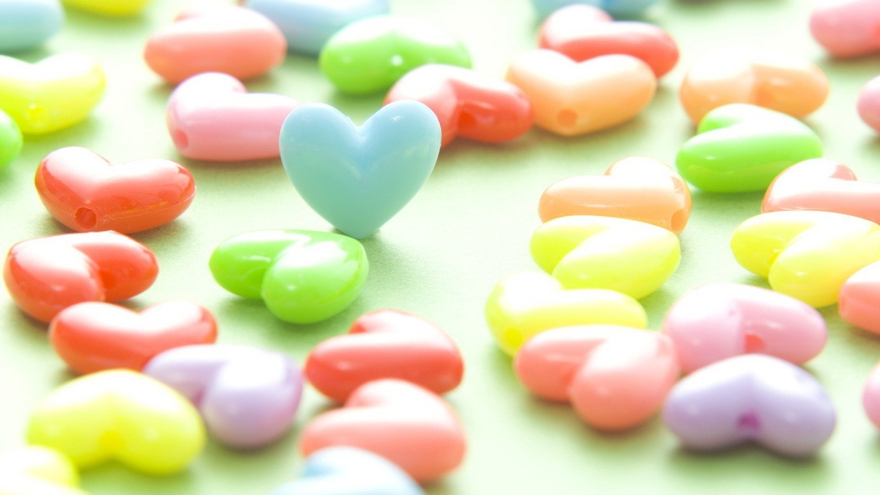 love hearts candy 9 free wallpaper - hdlovewall