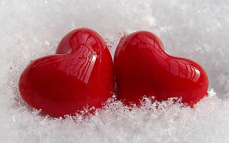 Love hearts - wallpaper, high definition, high quality, widescreen