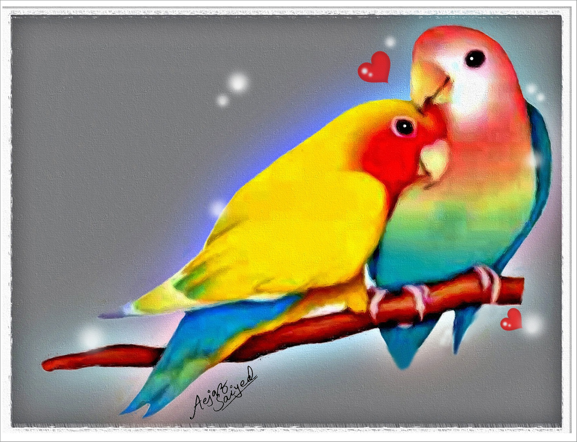Love Birds Wallpaper For Computer Background Free Wallpapers 7 Real