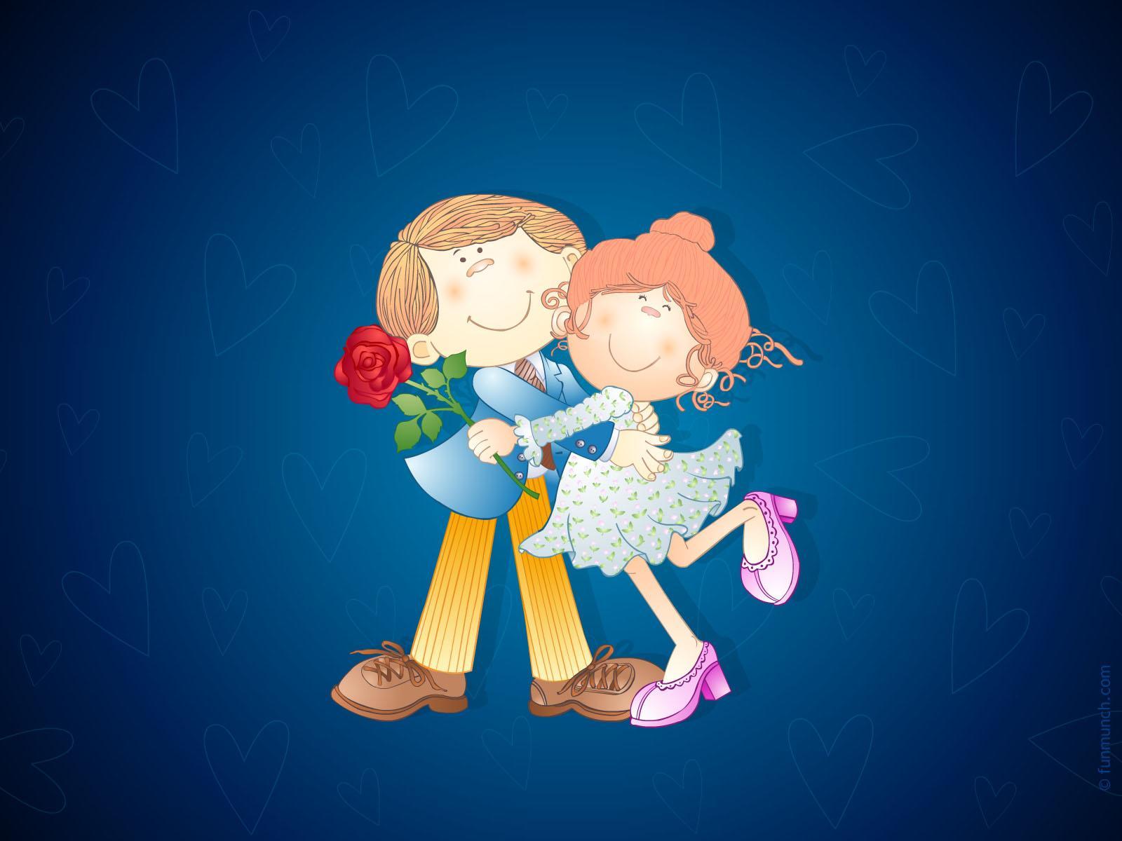 3d love couple images HD wallpaper - 3D Love