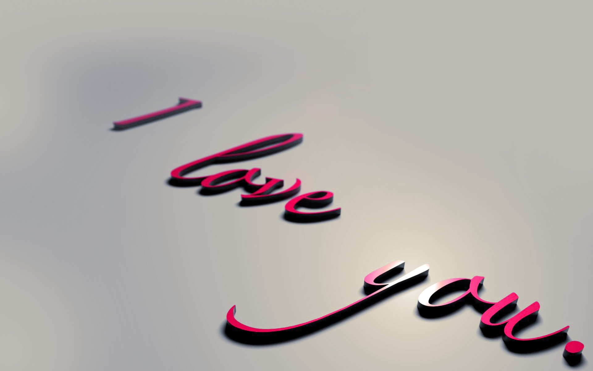 3D Love Letters 14 Hd Wallpaper - Hdlovewall.com