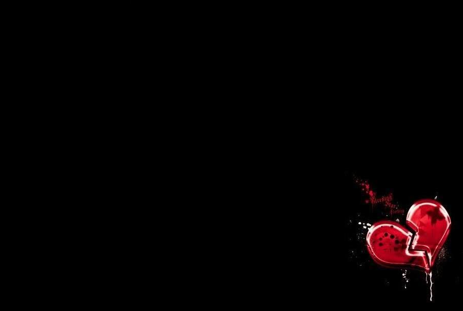 Broken Hearted Wallpaper Background 1 Widescreen