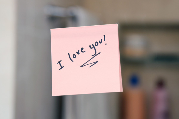 Cute Love Notes  11 Wide Wallpaper
