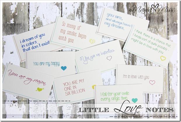 Cute Love Notes  32 Desktop Background