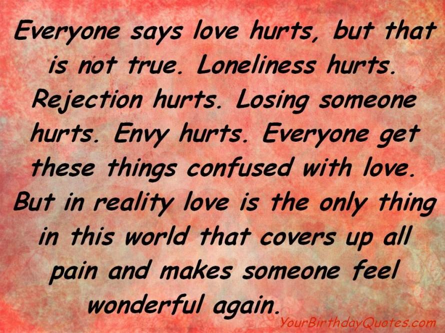 Love Quotes HD Wallpaper