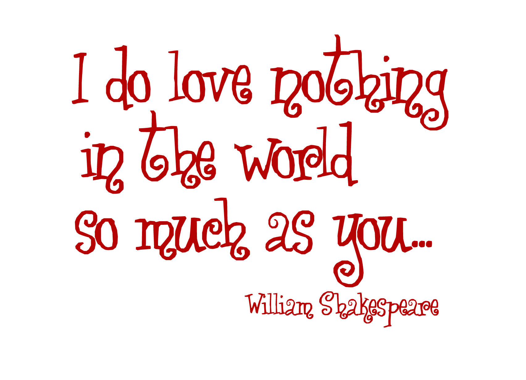 Love Quotes By Shakespeare 20 High Resolution Wallpaper - Hdlovewall.com