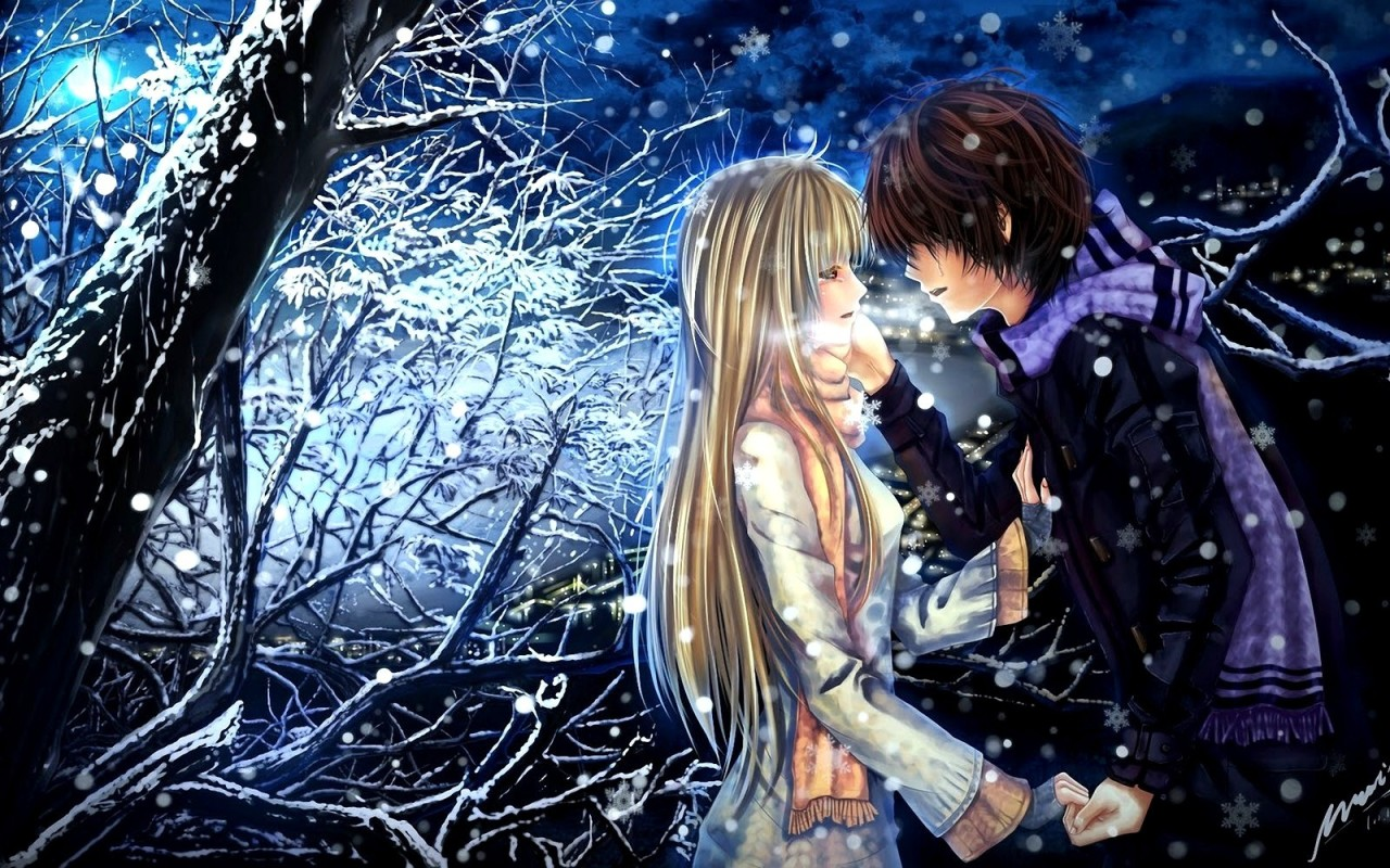 Boy And Girl Love Wallpaper Free : Romance Love Anime 19 Free Hd Wallpaper - Hdlovewall.com