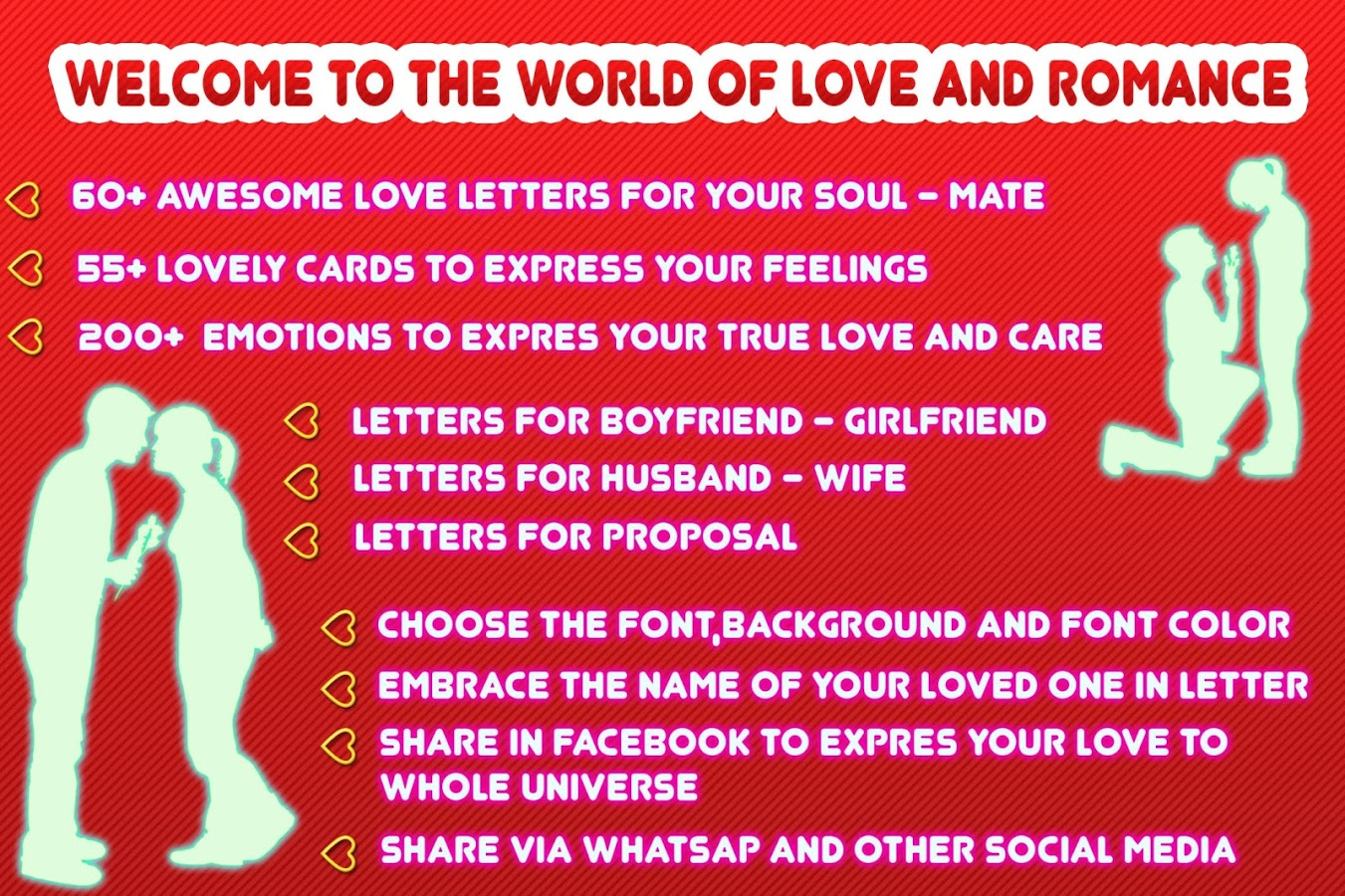 write a letter to your lover