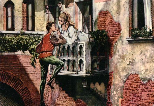 scene connections between romeo and juliet