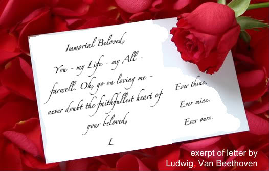 Romantic Love Letter. If Writing A Romantic Love Letter Does Not