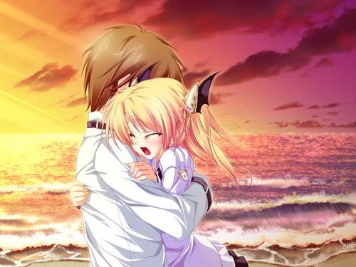 Sad Love Anime 31 Desktop Wallpaper