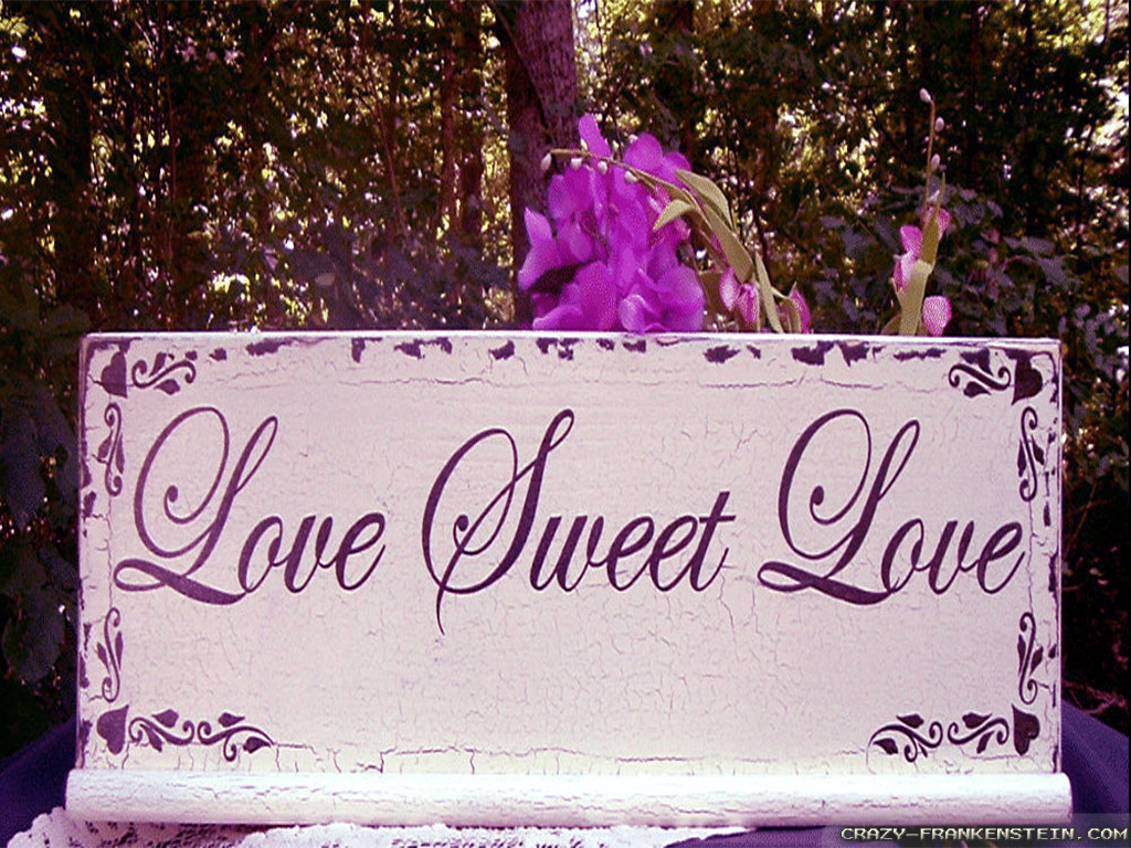 Sweet Wallpapers Of Love HD Wallpaper