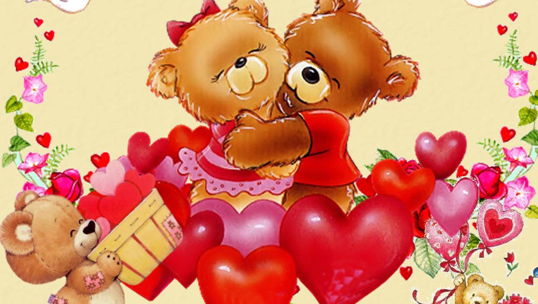 Schön Valentines Bear HD Wallpaper   Valentines