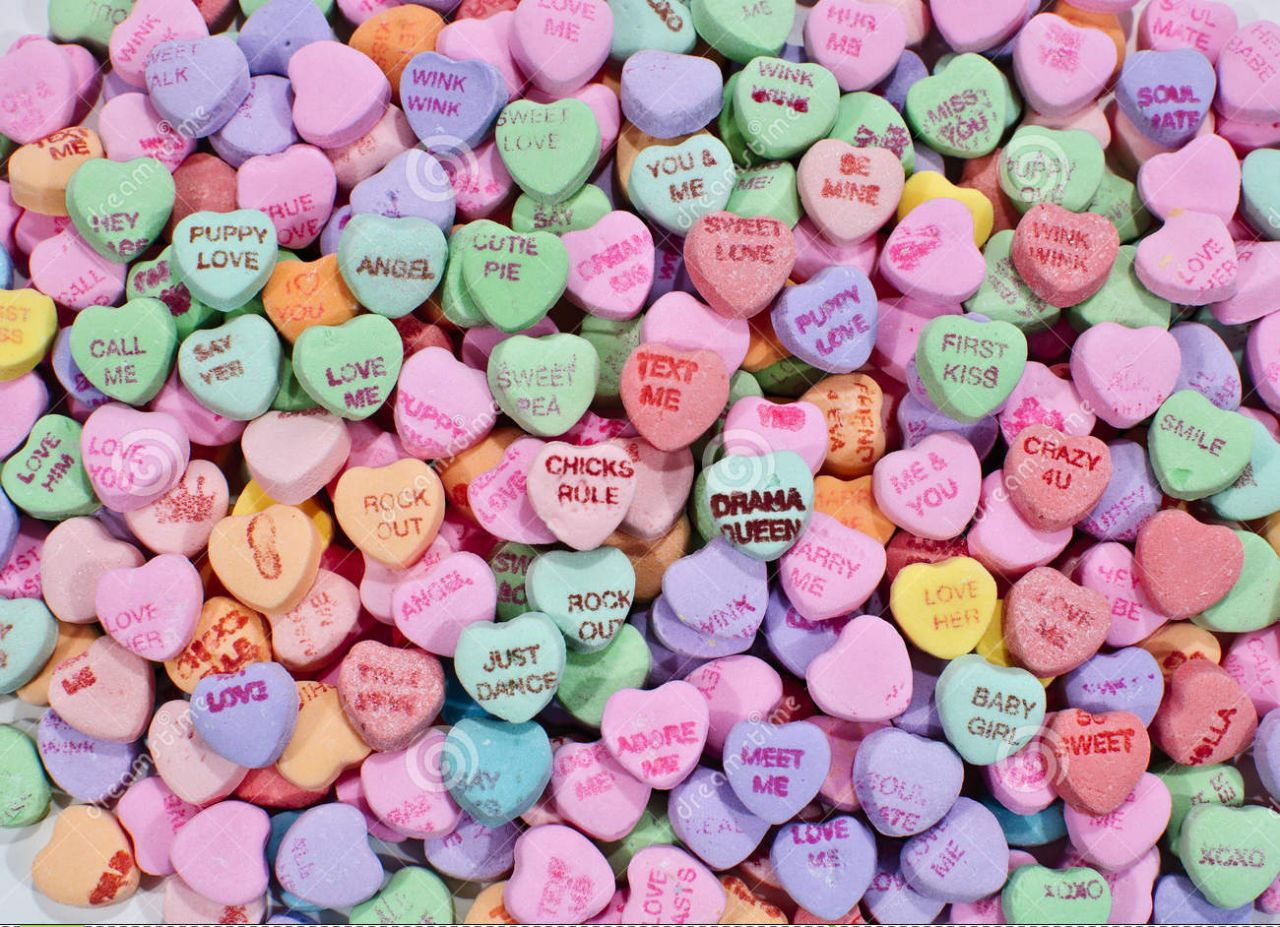 Valentine Candy Hearts | www.imgkid.com - The Image Kid ...