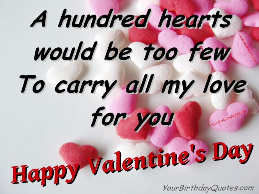 Valentines Quotes HD Wallpaper