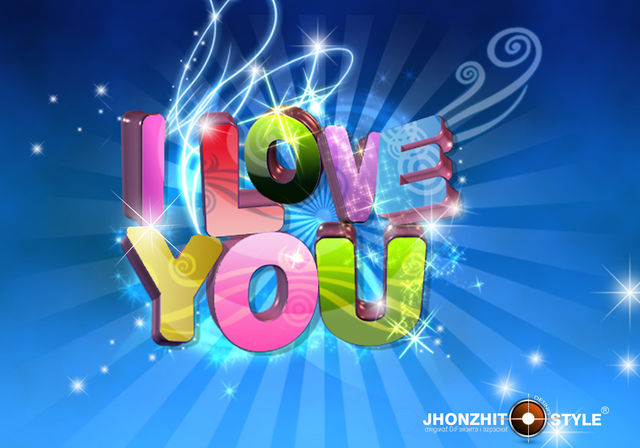 wallpaper 3d i love you - photo #27