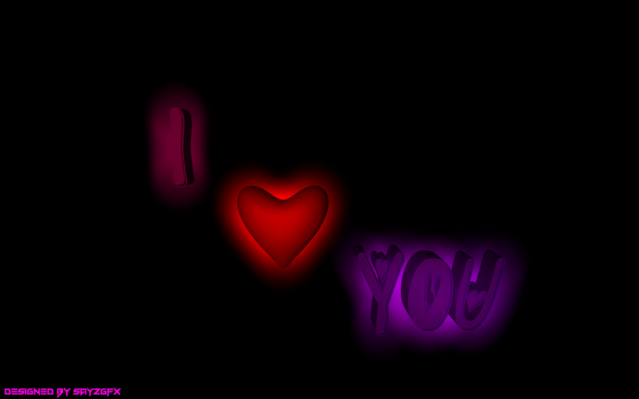 Wallpaper Hd 3d I Love You : 3D I Love You 25 Wide Wallpaper - Hdlovewall.com