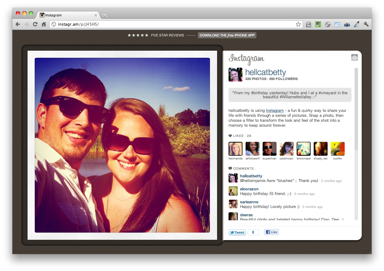 Funny Instagram Captions For Couples : The Best Parody Instagram Life According to Jamie