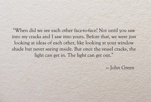 Love Quotes John Green...