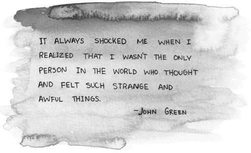 Love Quotes John Green 29 Widescreen Wallpaper