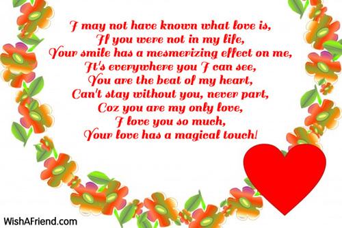 Cute Love Poems 14 Background Wallpaper Hdlovewall Com