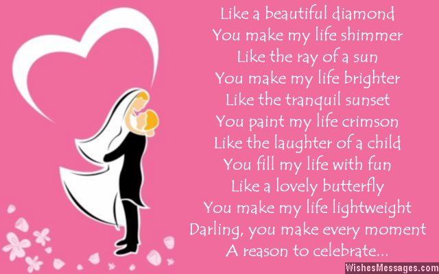 Sweet i love you poems