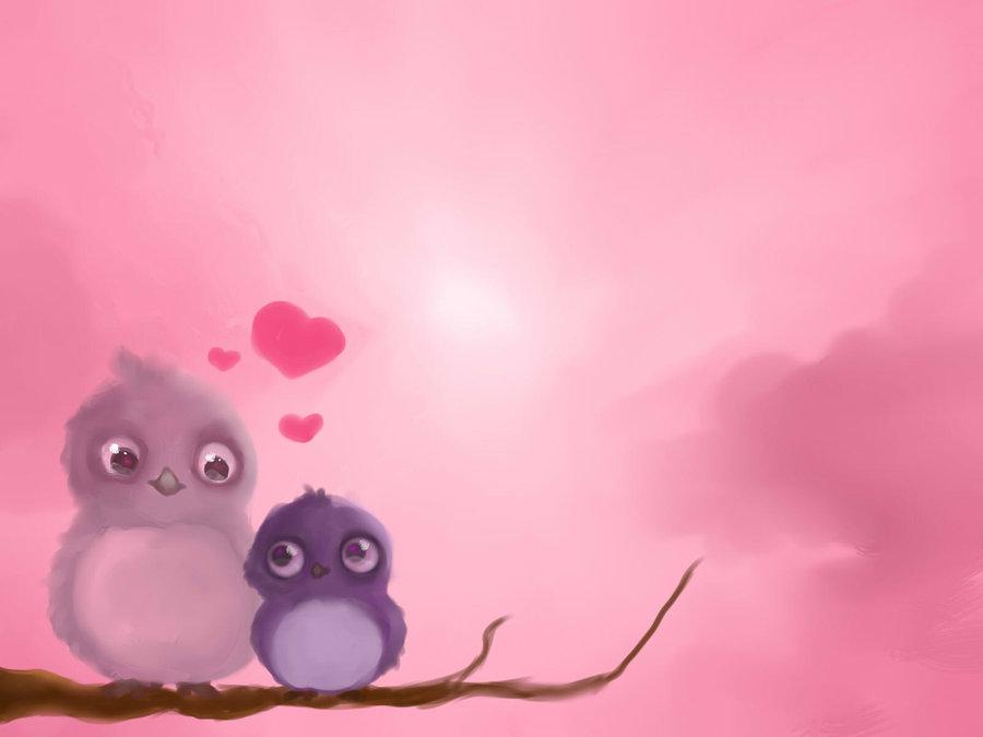 Valentine Love Birds 62 Wide Wallpaper Hdlovewall Com