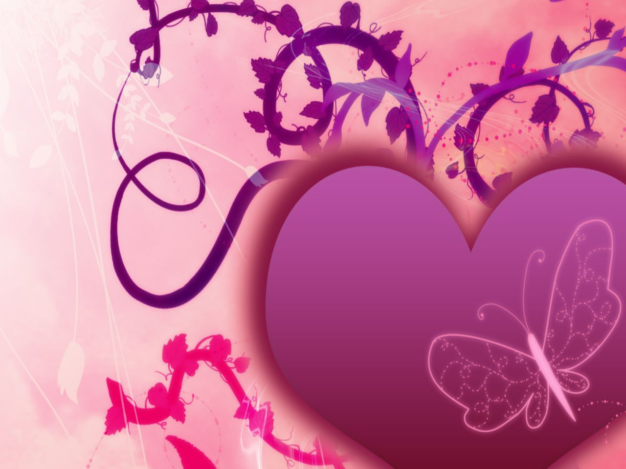 3d images love hearts 5 background wallpaper
