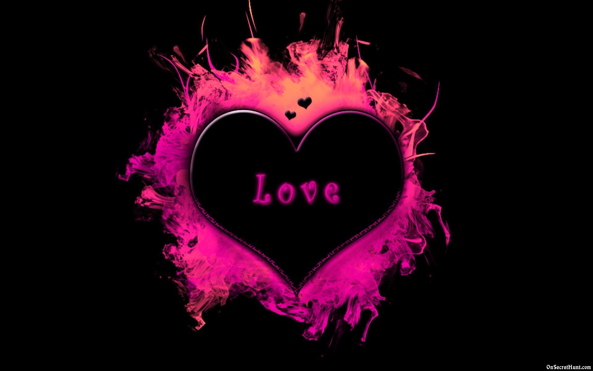 3d love heart wallpaper 3 background wallpaper
